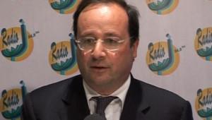 TF1/LCI François Hollande lors d'un forum de Radio J