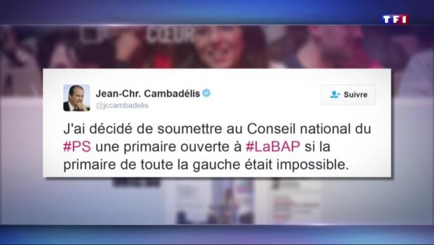 2017 : Cambadélis propose une primaire à gauche, qui y participera ?