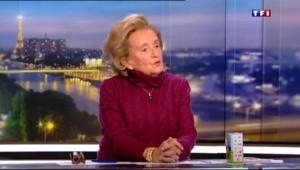 """Bernadette Chirac donne des nouvelles de son mari sur TF1 : """"Il n'y pas lieu de s'inquiéter"""""""