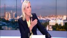 """Marine Le Pen sur les Régionales : """"alléger le poids qui pèse sur les Français"""""""