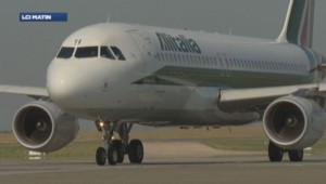 Un avion de la compagnie Alitalia