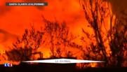 Etats-Unis : un gigantesque incendie à Los Angeles fait un mort et provoque des centaines d'évacuations