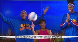 Les Harlem Globtrotter invités de LCI