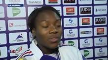 """Clarisse Agbegnenou, championne du monde de judo : """"Je n'arrive pas à réaliser"""""""