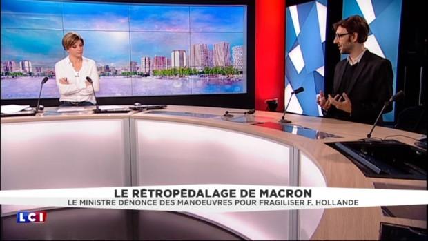 """Le rétropédalage de Macron : """"Il passe son temps à tester les limites"""""""