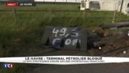Terminal pétrolier du Havre bloqué : le piquet de grève perdure
