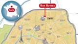 Paris : un homme poignardé en pleine rue