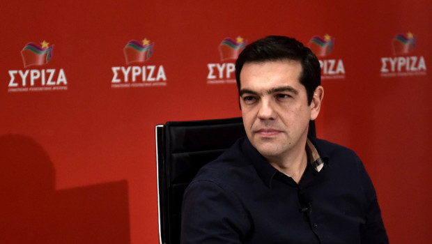 Alexis Tsipras, le 14/01/2015