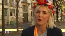 """FN: """"Qui a été violent ?"""", demande une Femen"""