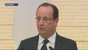 François Hollande au Japon le 7 juin 2013
