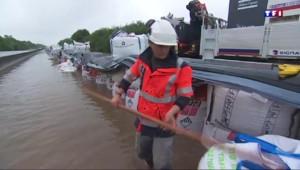 Inondations : la situation se débloque sur l'A10