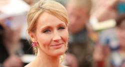 L'auteure britannique J.K. Rowling