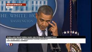 Obama : « Nos cœurs sont brisés aujourd'hui »