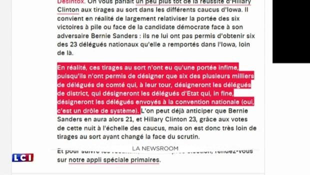 Primaires américaines : Sanders-Clinton, le duel s'est joué à pile ou face