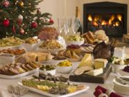 Repas de fêtes de fin d'année / Photo d'illustration