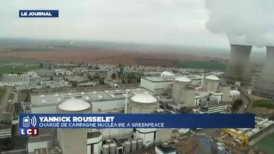 """Centrales nucléaires survolées par des drones : """"Un vrai problème de sécurité"""", selon Greenpeace"""