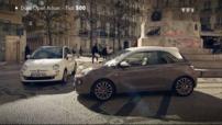 Essai Comparo Automoto Fiat 500 Opel Adam