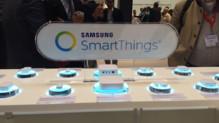La collection de capteurs et le Hub SmartThings de l'écosystème de domotique Samsung