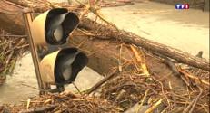 Le 20 heures du 3 mai 2015 : Crue de l'Isère : alerte levée mais des dégâts bien visibles - 544.455