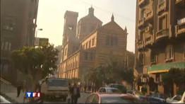 Les coptes d'Alexandrie se préparent pour Noël