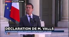 """""""Les signes de reprise économique sont là, il faut amplifier notre action"""", assure Valls"""