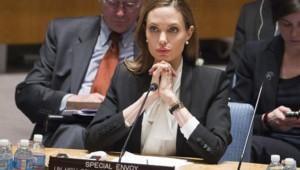 Angelina Jolie, ambassadrice de l'ONU