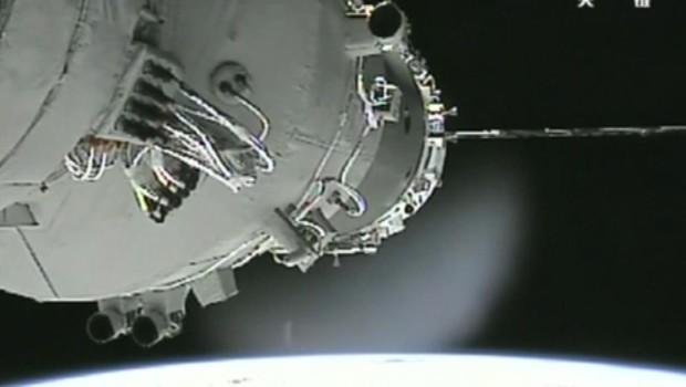 Espace : arrimage réussi pour les trois astronautes chinois (VIDEO)