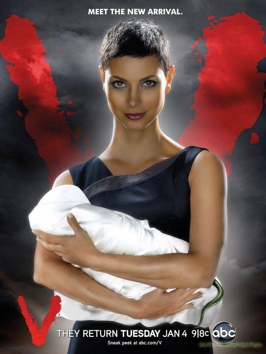V - Saison 2 créée par Scott Peters en 2009, avec Elizabeth Mitchell, Morris Chestnut, Joel Gretsch...