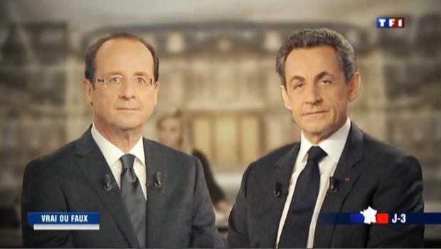 Bataille de chiffres entre Hollande et Sarkozy