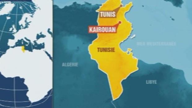 Kairouan Tunisie Carte Kairouan en Tunisie