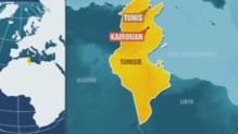 Carte Kairouan en Tunisie