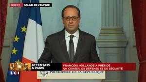 Hollande décrète 3 jours de deuil national : l'intégralité de son intervention