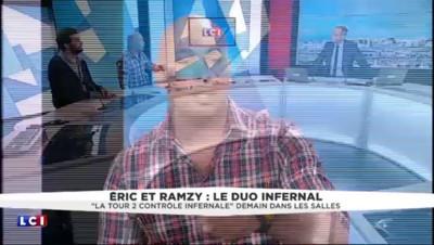"""""""La tour 2 contrôle infernale"""" : le duo de choc, Éric et Ramzy, invité de LCI"""