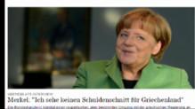 """Le 13 heures du 31 janvier 2015 : Angela Merkel dit """"non"""" à une réduction de la dette grecque - 873.955"""