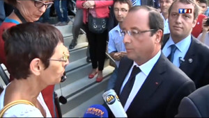 Le 20 heures du 6 août 2013 : Visite chahut�pour Hollande en Vend�- 556.699