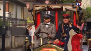 Le 20 heures du 7 septembre 2014 : 100 ans apr� les taxis de la Marne quittent �ouveau Paris - 1057.292