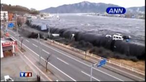 Le tsunami qui a ravagé le nord-est du Japon en mars 2011 (archives).