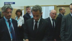 Nicolas Sarkozy à Nice