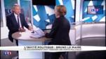 """Pour Bruno Le Maire, """"à gauche, ça sent la fin de règne"""""""