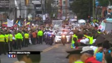 Quito : le pape François entame une tournée sud-américaine
