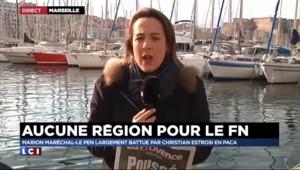 """Beaucoup """"d'amertume"""" au QG du FN après la victoire d'Estrosi"""