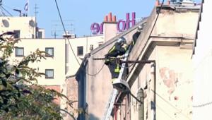 incendie Pantin immeuble