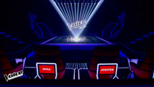 Le plateau de The Voice pour l'épreuve ultime