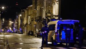 Opération anti-terroriste à Verviers, en Belgique, le 15 janvier 2015