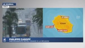 Philippe Caroff prévisionniste Météo France à la Réunion 2/01/2014