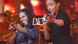 The-voice, duel Stephan Rizon et Jua Amir sur Kiss