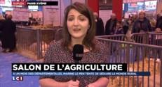 Marine Le Pen : des heures de labour au Salon de l'agriculture
