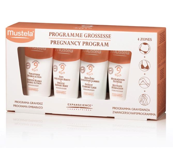 Le Programme Grossesse de Mustela : des soins de la peau adaptés