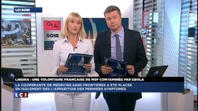 """Française de MSF infectée par Ebola: """"10% des cas rapportés sont des travailleurs humanitaires"""""""
