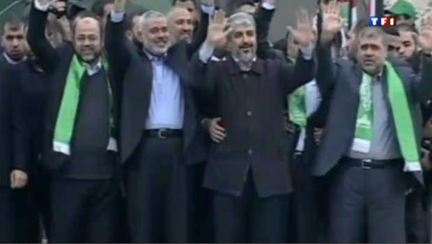 Gaza fête les 25 ans du Hamas